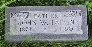 TAPLIN, JOHN W. - Hitchcock County, Nebraska | JOHN W. TAPLIN - Nebraska Gravestone Photos