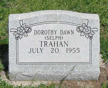 SELPH TRAHAN, DOROTHY DAWN - Hitchcock County, Nebraska | DOROTHY DAWN SELPH TRAHAN - Nebraska Gravestone Photos