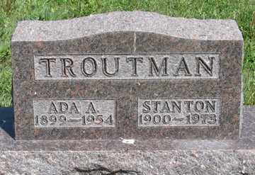 TROUTMAN, STANTON - Hitchcock County, Nebraska | STANTON TROUTMAN - Nebraska Gravestone Photos