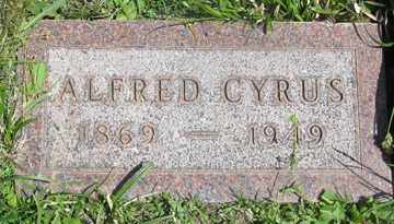TROUTMAN, ALFRED CYRUS - Hitchcock County, Nebraska | ALFRED CYRUS TROUTMAN - Nebraska Gravestone Photos