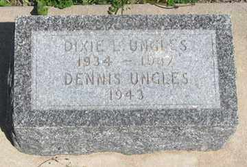 UNGLES, DIXIE L. - Hitchcock County, Nebraska | DIXIE L. UNGLES - Nebraska Gravestone Photos