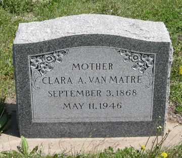 VAN MATRE, CLARA A. - Hitchcock County, Nebraska | CLARA A. VAN MATRE - Nebraska Gravestone Photos