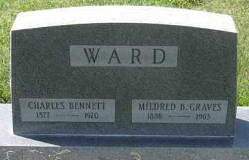 WARD, MILDRED B. - Hitchcock County, Nebraska | MILDRED B. WARD - Nebraska Gravestone Photos