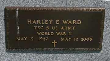 WARD, HARLEY E. - Hitchcock County, Nebraska | HARLEY E. WARD - Nebraska Gravestone Photos