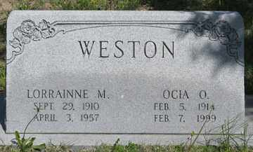 WESTON, OCIA O. - Hitchcock County, Nebraska   OCIA O. WESTON - Nebraska Gravestone Photos