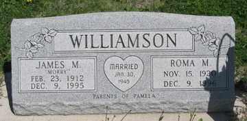 WILLIAMSON, ROMA M. - Hitchcock County, Nebraska | ROMA M. WILLIAMSON - Nebraska Gravestone Photos