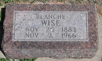 WISE, BLANCHE - Hitchcock County, Nebraska | BLANCHE WISE - Nebraska Gravestone Photos