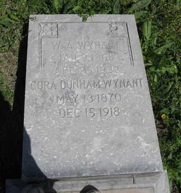 WYNANT, W. A. - Hitchcock County, Nebraska | W. A. WYNANT - Nebraska Gravestone Photos