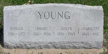 YOUNG, HOWARD - Hitchcock County, Nebraska | HOWARD YOUNG - Nebraska Gravestone Photos