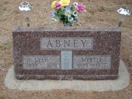 ABNEY, MYRTLE - Holt County, Nebraska | MYRTLE ABNEY - Nebraska Gravestone Photos