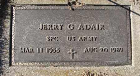 ADAIR, JERRY G. (MILITARY) - Holt County, Nebraska | JERRY G. (MILITARY) ADAIR - Nebraska Gravestone Photos