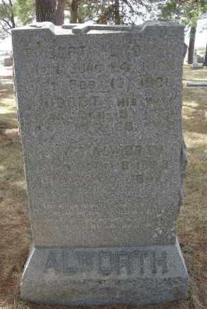 ALWORTH, BRIDGET - Holt County, Nebraska   BRIDGET ALWORTH - Nebraska Gravestone Photos