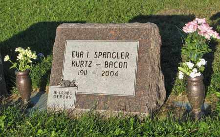 SPANGLER BACON, EVA I. - Holt County, Nebraska | EVA I. SPANGLER BACON - Nebraska Gravestone Photos