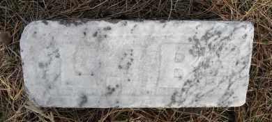 BALLEWEG, LOUIS (FOOT STONE) - Holt County, Nebraska | LOUIS (FOOT STONE) BALLEWEG - Nebraska Gravestone Photos