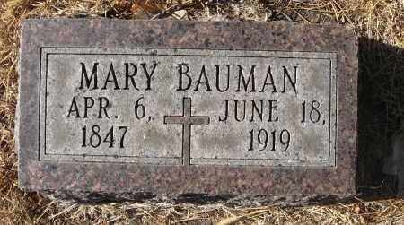 BAUMAN, MARY - Holt County, Nebraska | MARY BAUMAN - Nebraska Gravestone Photos