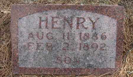 BECKER, HENRY - Holt County, Nebraska | HENRY BECKER - Nebraska Gravestone Photos