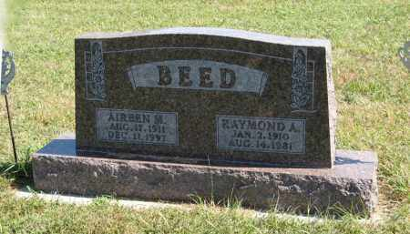BEED, AIREEN M. - Holt County, Nebraska | AIREEN M. BEED - Nebraska Gravestone Photos