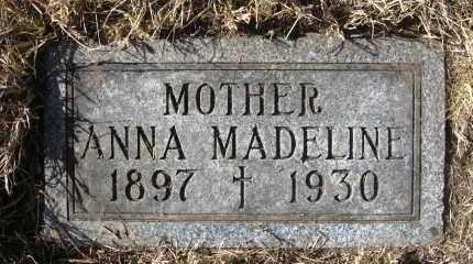 BOGUE, ANNA MADELINE - Holt County, Nebraska | ANNA MADELINE BOGUE - Nebraska Gravestone Photos