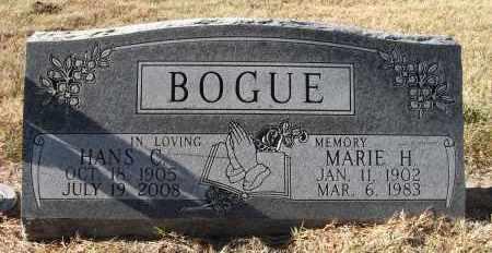 BOGUE, MARIE H. - Holt County, Nebraska | MARIE H. BOGUE - Nebraska Gravestone Photos