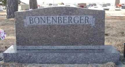 BONENBERGER, JOHN E - Holt County, Nebraska | JOHN E BONENBERGER - Nebraska Gravestone Photos
