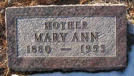 BONENBERGER, MARY ANN - Holt County, Nebraska | MARY ANN BONENBERGER - Nebraska Gravestone Photos