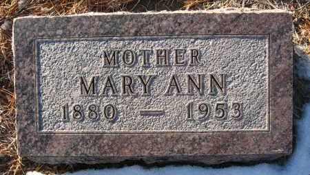 BONENBERGER, MARY ANN - Holt County, Nebraska | MARY ANN BONENBERGER - Nebraska Gravestone Photos