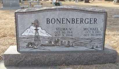BONENBERGER, MICHAEL C - Holt County, Nebraska | MICHAEL C BONENBERGER - Nebraska Gravestone Photos
