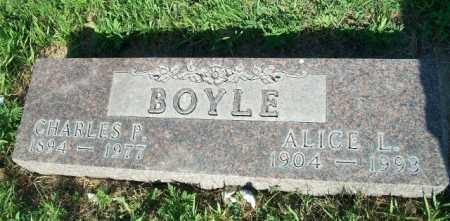 BOYLE, CHARLES - Holt County, Nebraska | CHARLES BOYLE - Nebraska Gravestone Photos