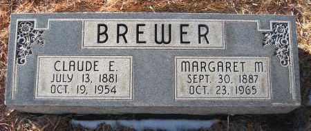 BREWER, CLAUDE E - Holt County, Nebraska | CLAUDE E BREWER - Nebraska Gravestone Photos
