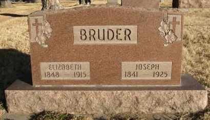BRUDER, ELIZABETH - Holt County, Nebraska | ELIZABETH BRUDER - Nebraska Gravestone Photos