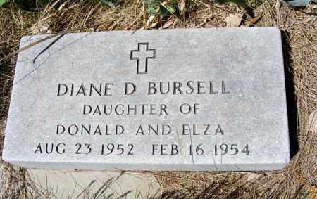 BURSELL, DIANE D. - Holt County, Nebraska | DIANE D. BURSELL - Nebraska Gravestone Photos