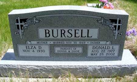 BURSELL, ELZA D. - Holt County, Nebraska | ELZA D. BURSELL - Nebraska Gravestone Photos