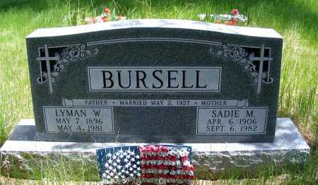BURSELL, SADIE M. - Holt County, Nebraska | SADIE M. BURSELL - Nebraska Gravestone Photos