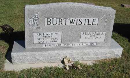 BURTWISTLE, RICHARD W. - Holt County, Nebraska | RICHARD W. BURTWISTLE - Nebraska Gravestone Photos