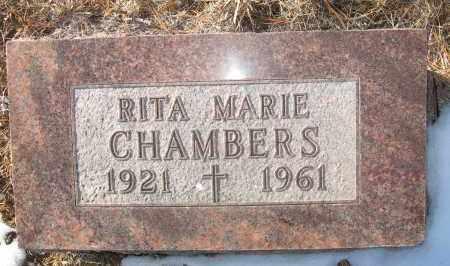 CHAMBERS, RITA MARIE - Holt County, Nebraska   RITA MARIE CHAMBERS - Nebraska Gravestone Photos