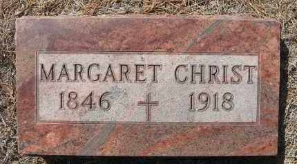 CHRIST, MARGARET - Holt County, Nebraska | MARGARET CHRIST - Nebraska Gravestone Photos