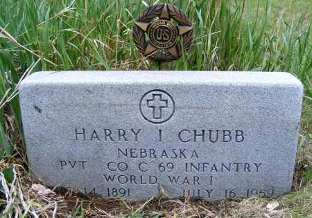 CHUBB, HARRY I. - Holt County, Nebraska   HARRY I. CHUBB - Nebraska Gravestone Photos