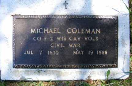 COLEMAN, MICHAEL - Holt County, Nebraska   MICHAEL COLEMAN - Nebraska Gravestone Photos