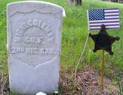 COLEMAN, MICHAEL - Holt County, Nebraska | MICHAEL COLEMAN - Nebraska Gravestone Photos