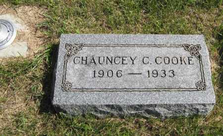 COOKE, CHAUNCEY C. - Holt County, Nebraska   CHAUNCEY C. COOKE - Nebraska Gravestone Photos