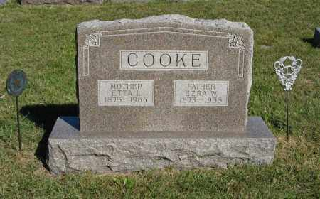 COOKE, EZRA W. - Holt County, Nebraska | EZRA W. COOKE - Nebraska Gravestone Photos