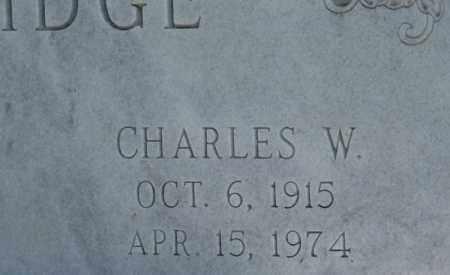 COOLIDGE, CHARLES W. (CLOSEUP) - Holt County, Nebraska | CHARLES W. (CLOSEUP) COOLIDGE - Nebraska Gravestone Photos