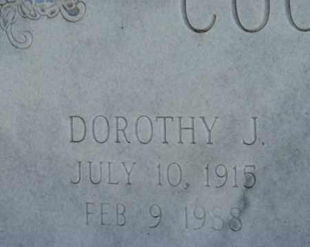 COOLIDGE, DOROTHY J. (CLOSEUP) - Holt County, Nebraska | DOROTHY J. (CLOSEUP) COOLIDGE - Nebraska Gravestone Photos