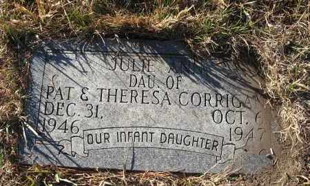 CORRIGAN, JULIE ANN - Holt County, Nebraska   JULIE ANN CORRIGAN - Nebraska Gravestone Photos