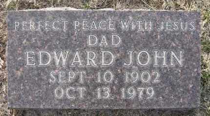 COUFAL, EDWARD JOHN - Holt County, Nebraska   EDWARD JOHN COUFAL - Nebraska Gravestone Photos