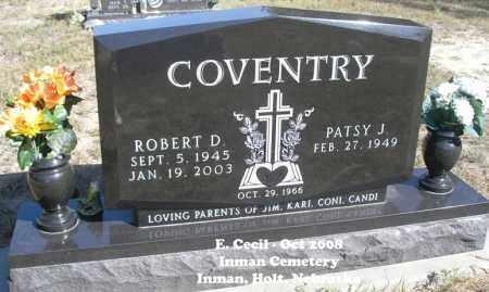 COVENTRY, ROBERT D. - Holt County, Nebraska | ROBERT D. COVENTRY - Nebraska Gravestone Photos