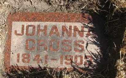 CROSS, JOHANNA - Holt County, Nebraska   JOHANNA CROSS - Nebraska Gravestone Photos