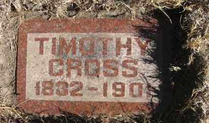CROSS, TIMOTHY - Holt County, Nebraska | TIMOTHY CROSS - Nebraska Gravestone Photos