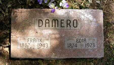 DAMERO, EDIA - Holt County, Nebraska | EDIA DAMERO - Nebraska Gravestone Photos