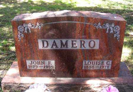 DAMERO, LOUISE C. - Holt County, Nebraska | LOUISE C. DAMERO - Nebraska Gravestone Photos